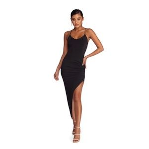 """""""Next Level Ruched Dress"""""""